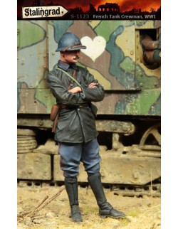 STALINGRAD 1:35, FRENCH TANK CREWMAN, WWI, S-1123