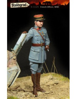 STALINGRAD 1:35, FRENCH OFFICER, WWI, S-1124