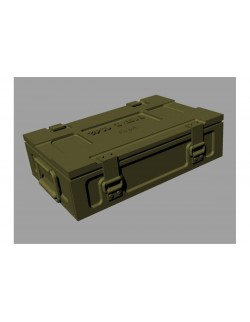PANZER ART, RE35-383 Ammo boxes for 25pdr (HE and AT pattern) 1:35