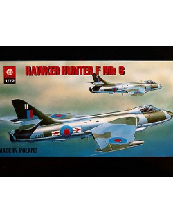 HAWKER HUNTER F MK. 6, BRITISH FIGHTER AIRCRAFT, ZTS PLASTYK, SCALE 1/72