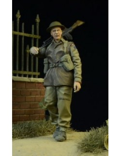 D-Day Miniature, 35014,1:35, British/Commonwealth Brengunner walking 1942-45