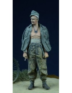 D-Day Miniature, 35017, 1/35 Wounded SS NCO 1942-45