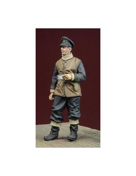 1//35 Scale Resin kit WW2 British Royal Navy Officer 1939-45
