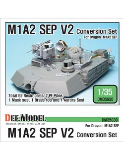 DEF.MODEL, M1A2 SEP V2 Conversion set (for Dragon 1/35), DM35030, SCALE 1/35