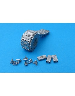 MasteClub MTL35128 1/35 Metal track links for M4 Sherman T62 type