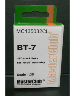 Resin Tracks for BT-7, MC135032CL, MasterClub, 1:35