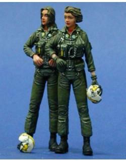 LEGEND PRODUCTION, LF0045, US Navy Women Pilots set (2 FIGURES), 1:35