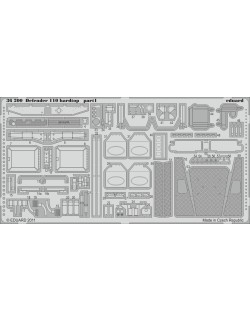 PE parts for Defender 110 hardtop 1/35 (for HOBBYBOSS), Eduard 36200