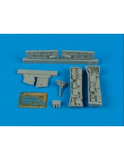 AIRES 4350, A-7D Corsair II electronic bay , Scale 1/48