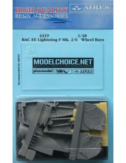 AIRES 4319, Lightning F Mk. 2/6 wheel bay , Scale 1/48