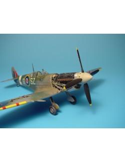AIRES 4210, Spitfire Mk. IX detail engine set, Scale 1/48