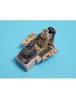 AIRES 4191, F-16C Fighting Falcon cockpit set , Scale 1/48
