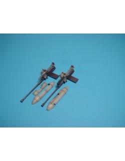AIRES 4169, Ju 87G 2 x 3,7 cm Bordkanone pods, Scale 1/48