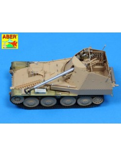 PE for German tank destroyer MARDER III,Ausf. M (Sd. Kfz.138) Basic set, ABER 35125
