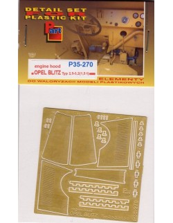 PE FOR Opel Blitz Typ 2,5 - 3,2(1,5 t) engine hood 1/35 - P35270