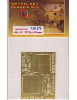 PE FOR Horch 108 Typ 40 Engine Hood (ICM) 1/35 - P35279