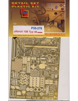 PE FOR Horch 108 Typ 40 (ICM) 1/35 - P35278