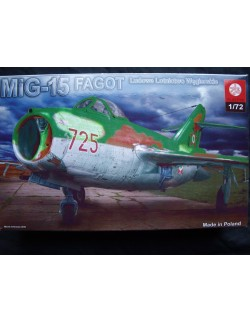 MIG-15 FAGOT HUNGARIAN AIR FORCE, ZTS PLASTYK S-068, 1/72