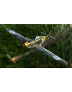 HAWKER HURRICANE MK.I , BRITISH FIGHTER AIRCRAFT, FLY 32016, SCALE 1/32