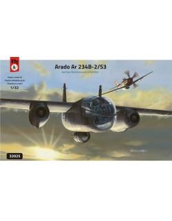 Arado Ar 234 B-2/S3 GERMAN RECONNAISSANCE BOMBER, FLY 32025, SCALE 1/32