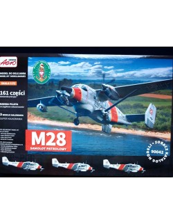 PZL M28 MARITIME PATROL AIRCRAFT (POLISH MARKINGS), AEROPLAST,90042, 1/72