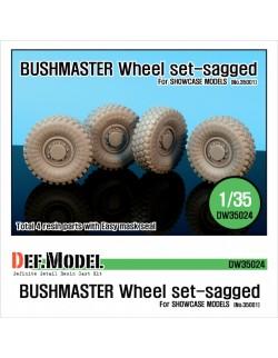 DEF.MODEL, AUSTRALIA Bushmaster Sagged Wheel set, DW35024, 1:35