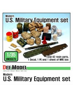 DEF.MODEL, Modern U.S. military Equipment set, DM35070, 1:35
