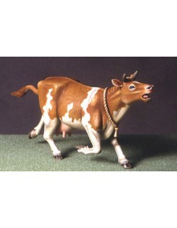 DEF.MODEL ANIMAL SERIES: Scared cow, DO35A01, 1:35
