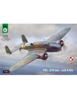 FLY 72041, PZL.37 A bis - LOS A bis, POLISH TWIN ENGINED MEDIUM BOMBER, 1/72