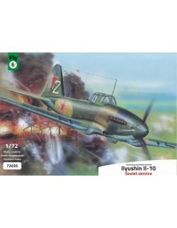 FLY 72035, Ilyushin Il-10 attack aircraft - Soviet service , SCALE 1/72