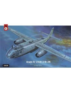 Arado Ar 234 B-2/B2-N GERMAN RECONNAISSANCE BOMBER, FLY 32026, SCALE 1/32