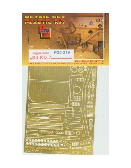 71364ca179d1 PE FOR Sd.Kfz.7 Engine hood (Trumpeter) 1 35 - P35219
