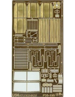 Photoetched metal parts for US6 Studebaker (ICM) (1/35)- P35195, PART