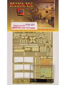 PE FOR GAZ-AAA mod.1940 / GAZ-AA Cargo Truck (MiniArt) 1/35 - P35287