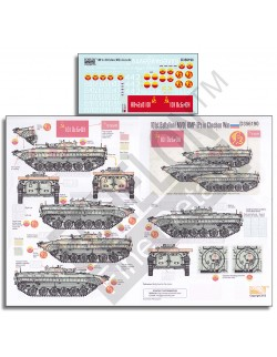 ECHELON FD D356190, 1/35 Decals for 101st Battalion BMP-1Ps in Chechnya War