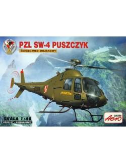 PZL SW-4 MILITARY MULTI-PURPOSE HELICOPTER, AEROPLAST,90033, 1/48