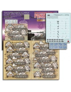 ECHELON FD ATX351016,1/35 Decals for LAH Panzer IV Ausf Gs in Battle of Kharkov