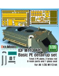 DEF.MODEL, DE35023, IDF M113 APC Basic PE Detail up set (for 1/35 All M113, 1:35