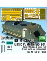 DEF.MODEL, DE35023, IDF M113 APC Basic PE Detail up set (for 1/35 All M113, 1:35
