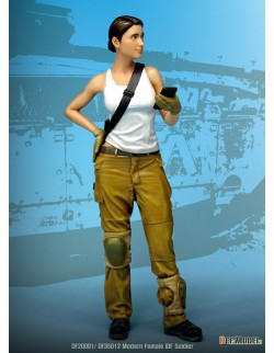 """DEF.MODEL, Modern IDF Female Soldier """"Maria"""" , DF16001, 1:16"""