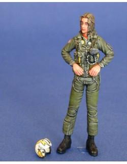 LEGEND PRODUCTION, LF0044, US Navy Woman Pilot 2, 1:35