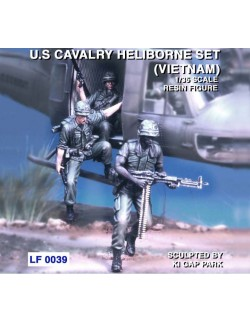 LEGEND PRODUCTION, LF0039, US Cavalry Heliborne set (Vietnam), 1:35