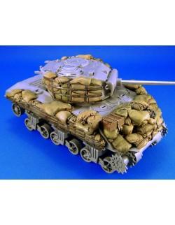 LEGEND PRODUCTION, LF1117, Sherman M4A3 sandbag Armor set 2 , SCALE 1:35