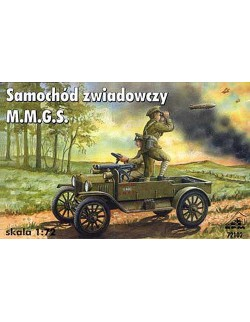 Ford model T M.m.G.S. WW1 British Scout Car,72102 RPM ,SCALE 1/72