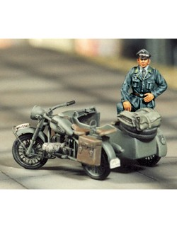 SOL RESIN FACTORY, B.M.W SIDE CAR, cat.no.MM045, 1:48