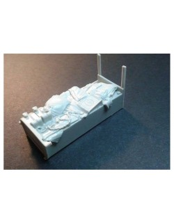 RE35-491, Stowage box for Scammel Pionier SV2S , PANZERART, SCALE 1/35