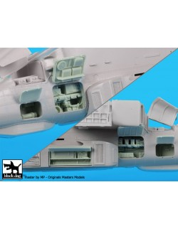 AH 64 D electronics 2 cat.n.: A48043 for Italeri , BLACK DOG, 1:48