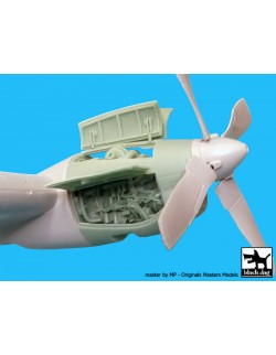 AC-130H Hercules Engine cat.n.: A72027 for Italeri , BLACK DOG, 1:72