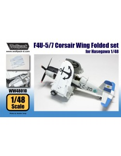 Wolfpack WW48023 SB2C-1 Helldiver Wing Fold set for Accurate Minia, SCALE 1//48