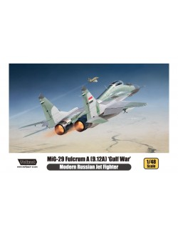 Wolfpack WP14804, MiG-29 Fulcrum A (9.12A) 'Gulf-WAR'' PLASTIC MODEL KIT , SCALE 1/48